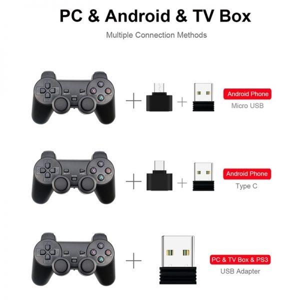 Gamepad Sem fio para o telefone android/pc/ps3/ 1
