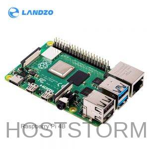 Raspberry Pi 4 Modelo b2 gb/4 gb/8g bcm2711 quad-core Cortex-A72 1.5 ghz com faixa dupla wifi bluetooth