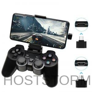 Gamepad Sem fio para o telefone android/pc/ps3/
