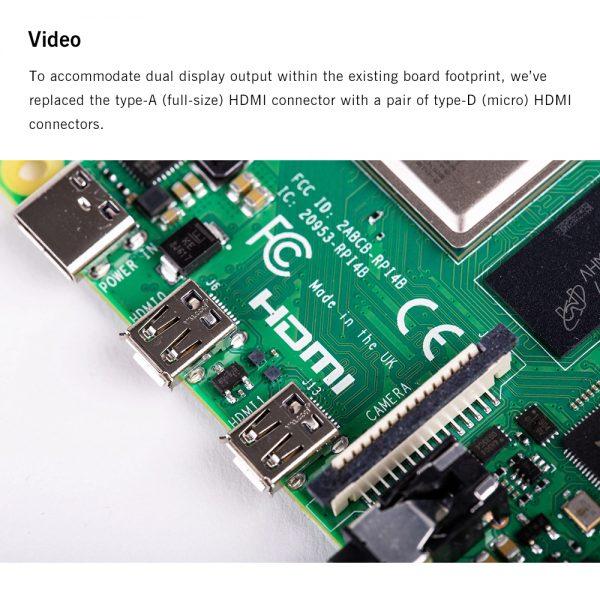 Pré-venda Raspberry pi 4 Modelo 8GB  3