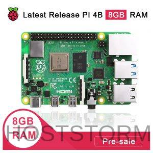 Pré-venda Raspberry pi 4 Modelo 8GB