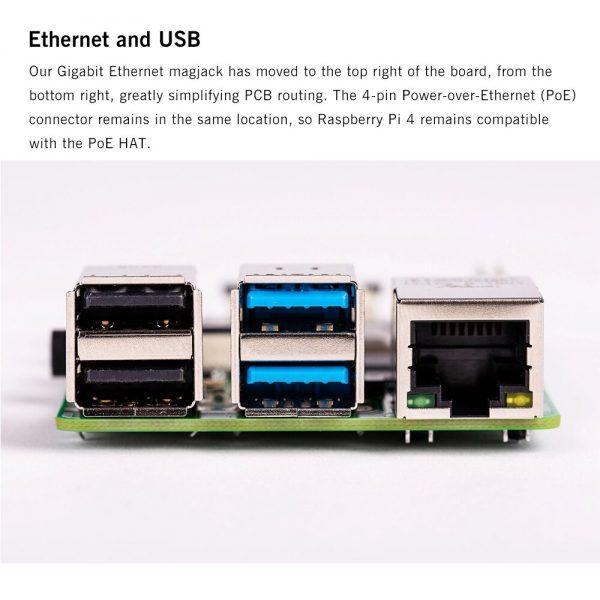 Raspberry Pi 4 Modelo b2 gb/4 gb/8g bcm2711 quad-core Cortex-A72 1.5 ghz com faixa dupla wifi bluetooth 5