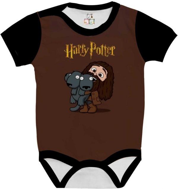 Body de Bebê Personalizado Harry Potter Escolha sua Estampa com Saia e Faixa de Cabelo 03 1