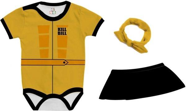 Body de Bebê Personalizado Mamba Negra A Noiva Tarantino Kill Bill 02 1