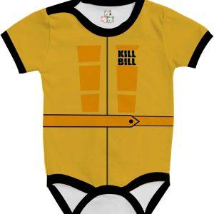 Body de Bebê Personalizado Mamba Negra A Noiva Tarantino Kill Bill 03 1