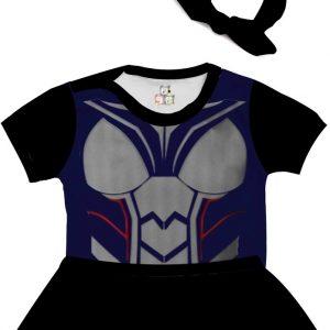Body de Bebê Personalizado Traje Fantasia Vingadores Avengers Mulher Vespa 02 1