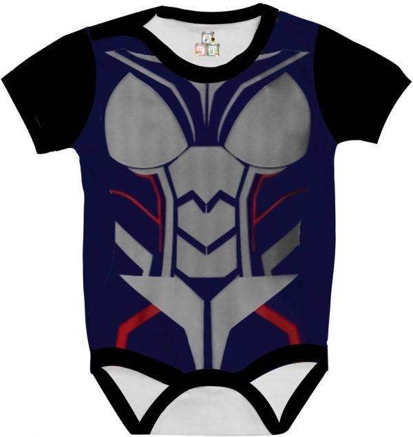 Body de Bebê Personalizado Traje Fantasia Vingadores Avengers Mulher Vespa 03 1