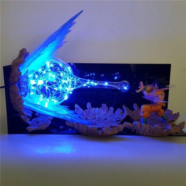 action figure dragon ball z son goku kamehameha
