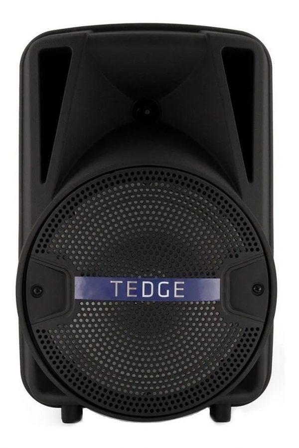 caixa de som tedge 8 portatil com bluetooth preta
