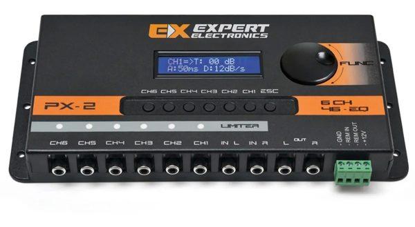 crossover digital banda processador audio 6 vias expert px2 03