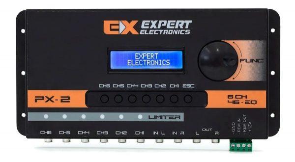 crossover digital banda processador audio 6 vias expert px2 06