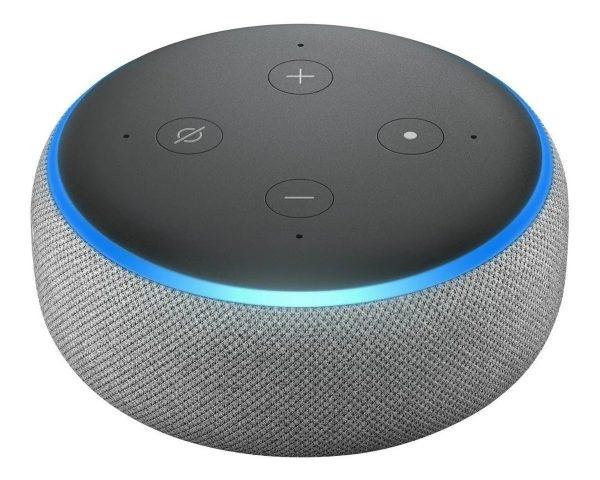 echo dot amazon 3a geracao c alexa smart speaker wi fi cza