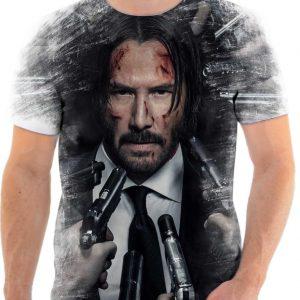 camiseta camisa john wick 007