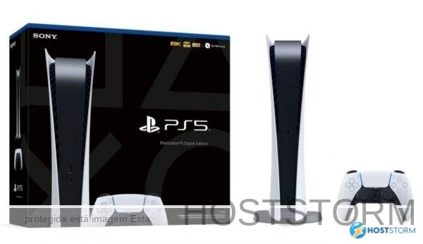sony console ps5 playstation 5 digital edition brasil