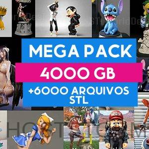 mega pack 6000 arquivos stl para impressora 3d marvel dc arquivos 3d para imprimir