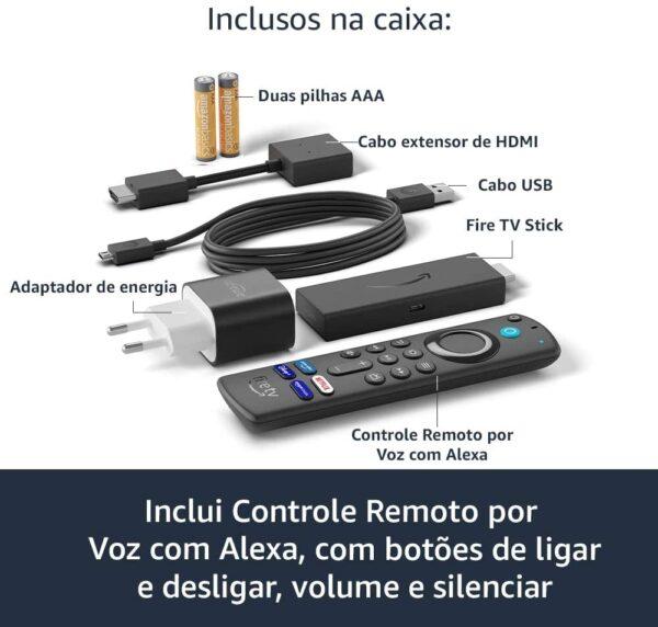 novo fire tv stick com controle remoto por voz com alexa inclui comandos de tv streaming em full hd 05