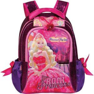 mochila escolar barbie a princesa